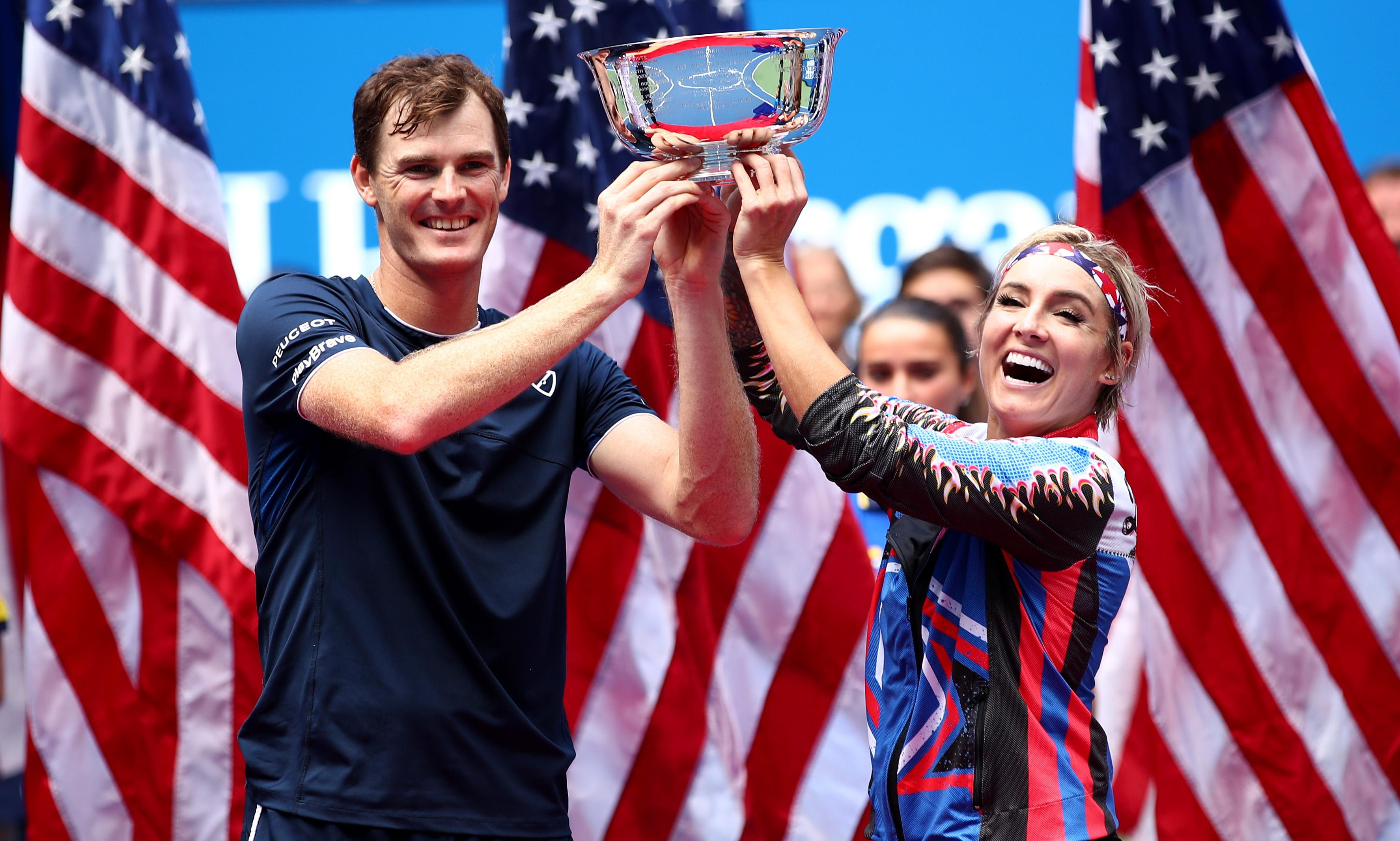 Jamie Murray and Mattek-Sands team up for Scot's fourth US Open doubles title