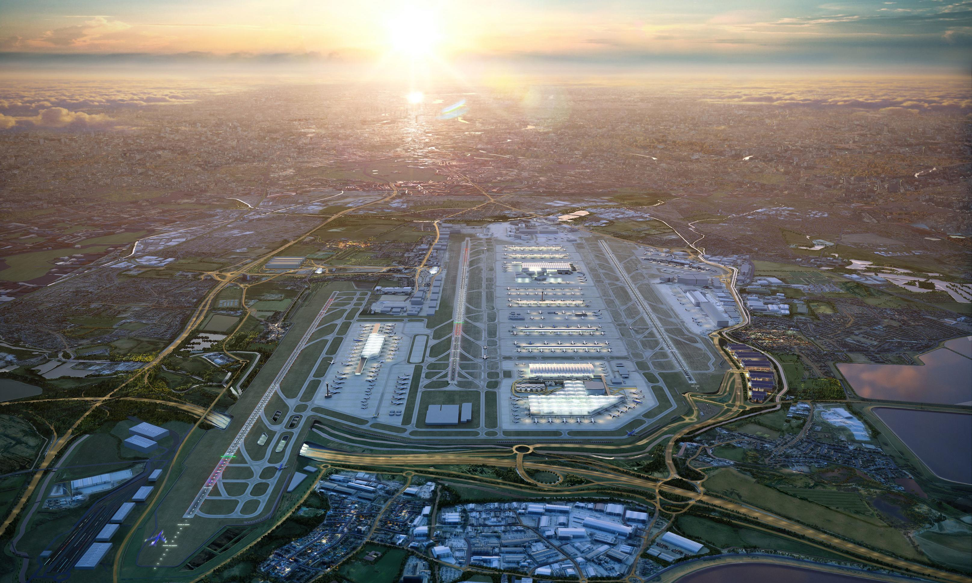Heathrow third runway expansion plans revealed