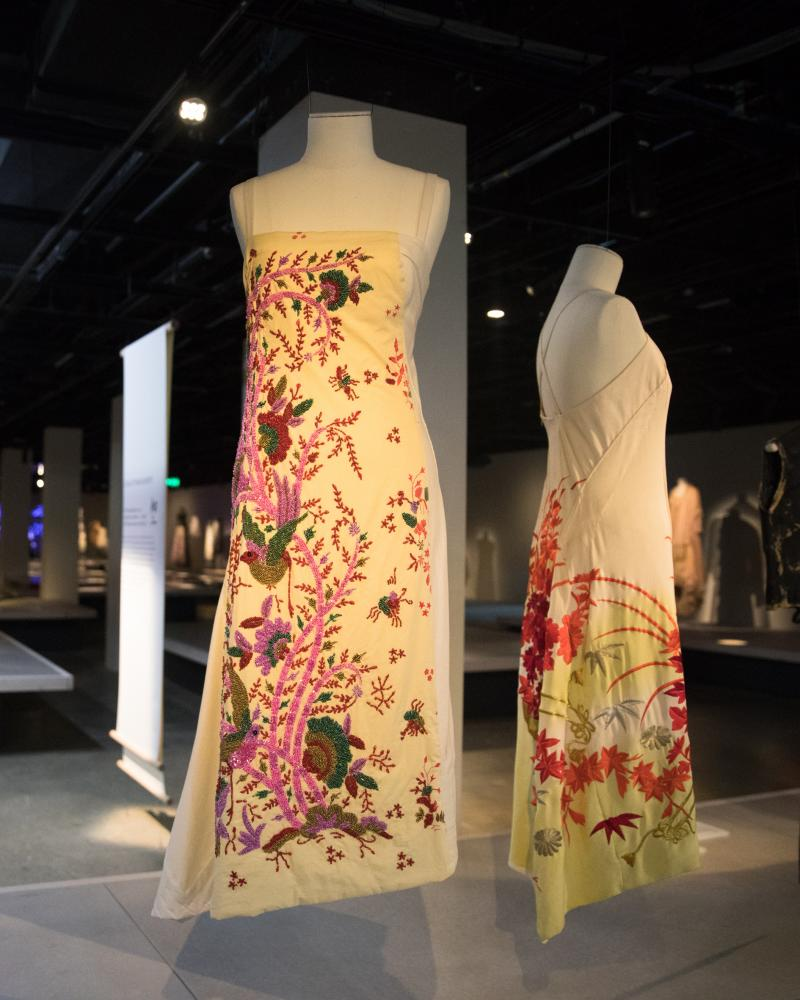 a beaded dress by Akira Isogawa