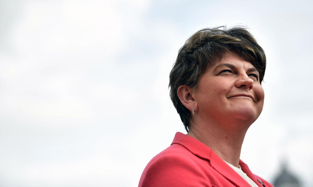 Arlene Foster likened Northern Ireland and Irish Republic to 'two semi-detached houses'.