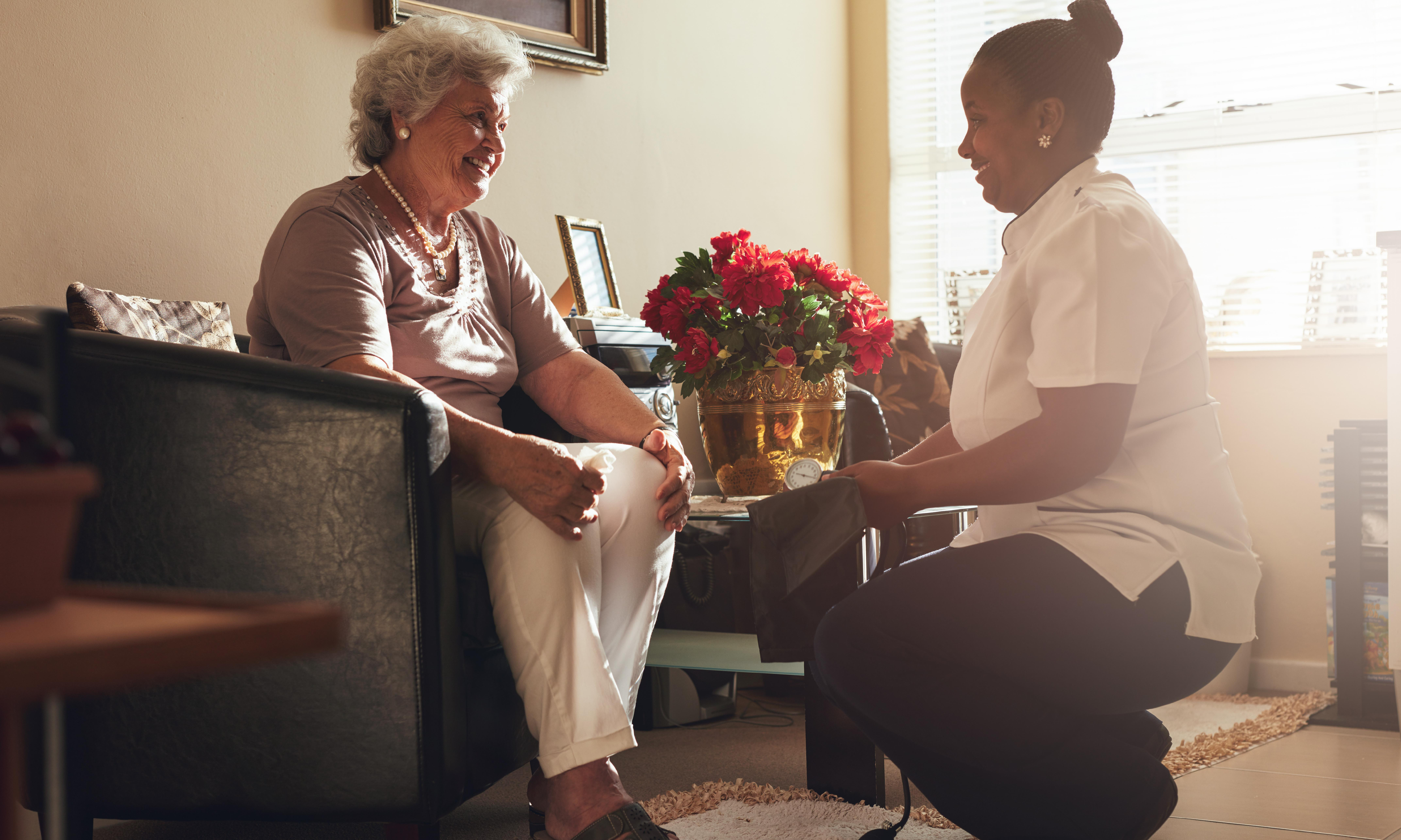 'I deserve the cost of living': US home care workers push to improve pay