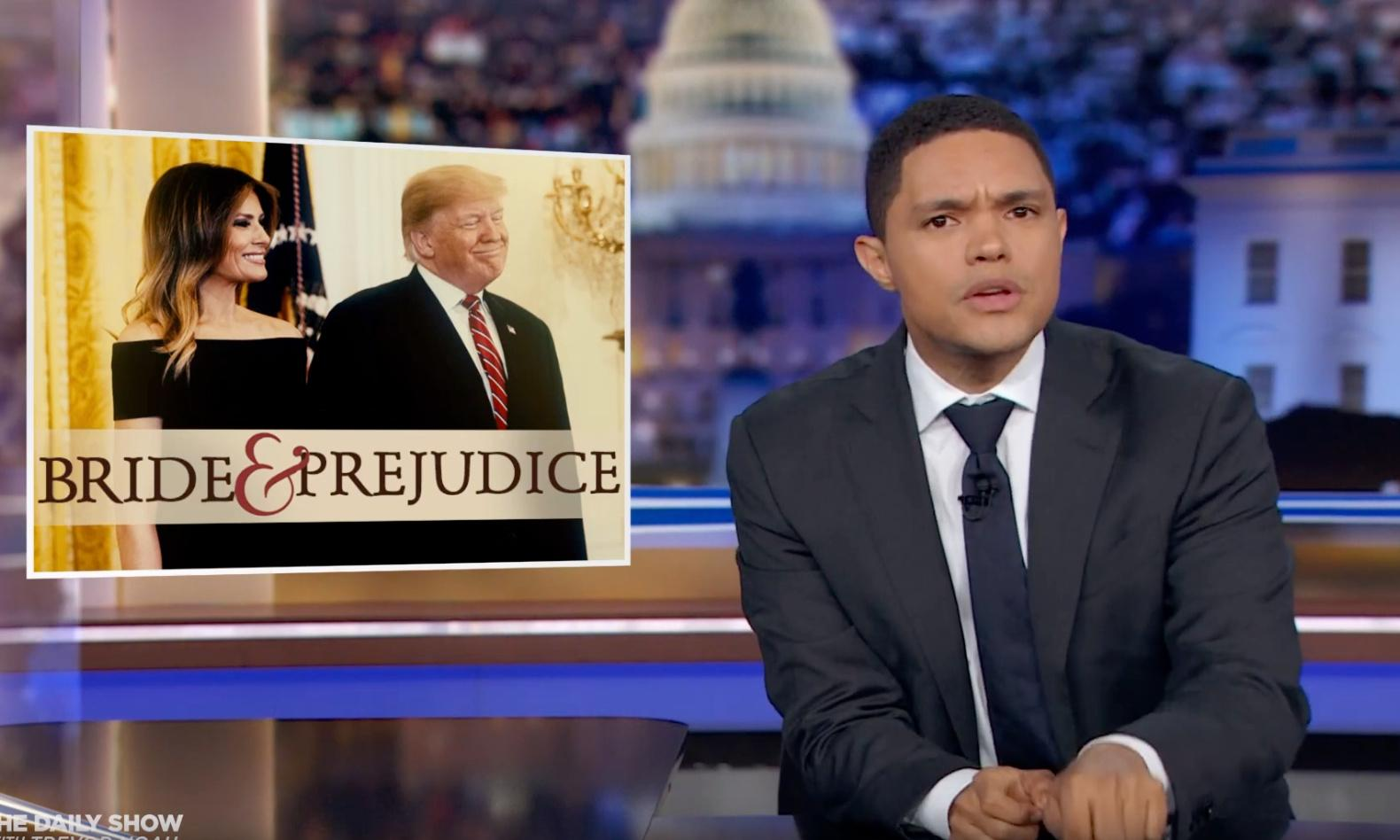 Trevor Noah: 'I think Donald Trump is trying to deport Melania'