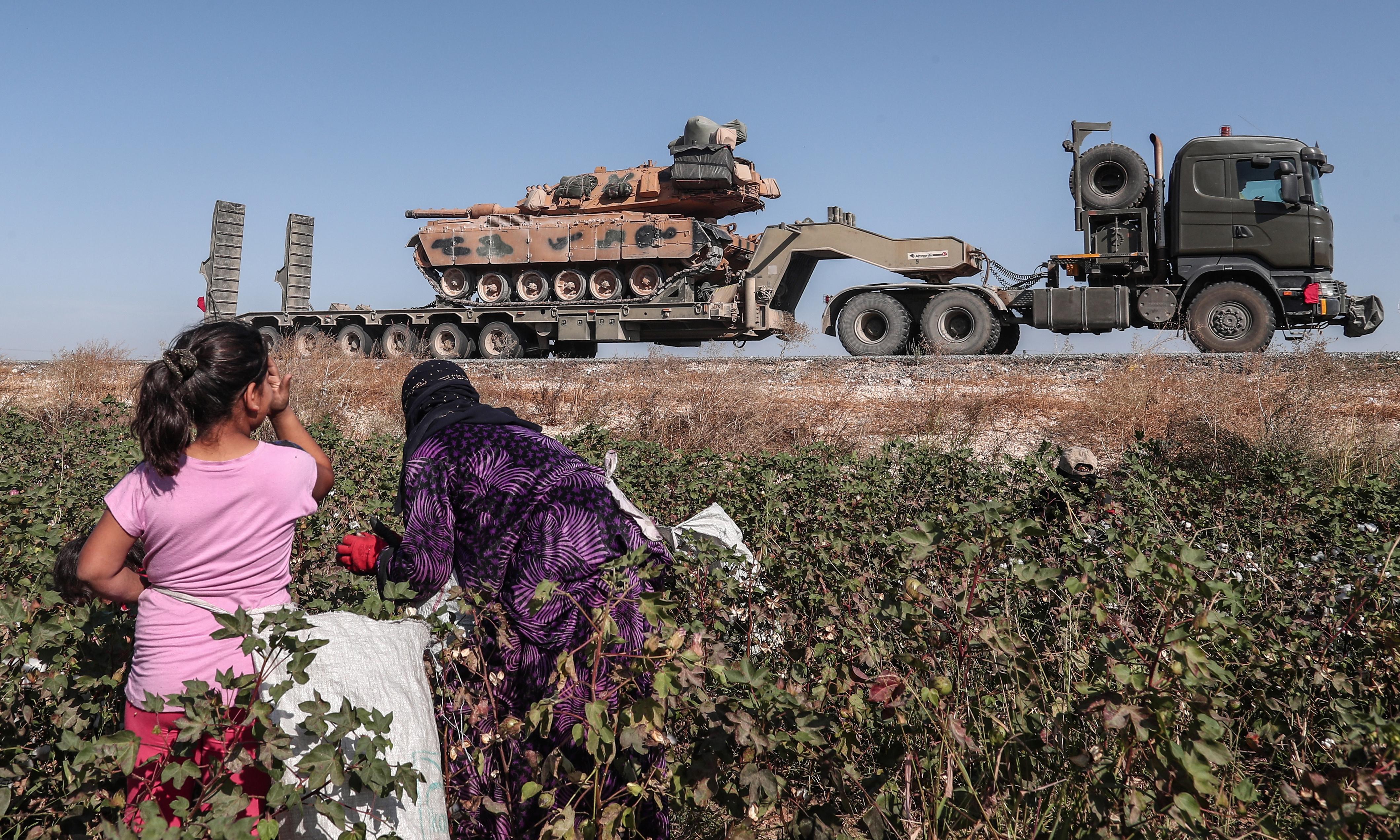 Betrayal on the border: Kurds fear future as Turkish assault intensifies
