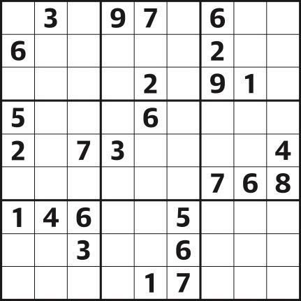Sudoku 4,687 hard