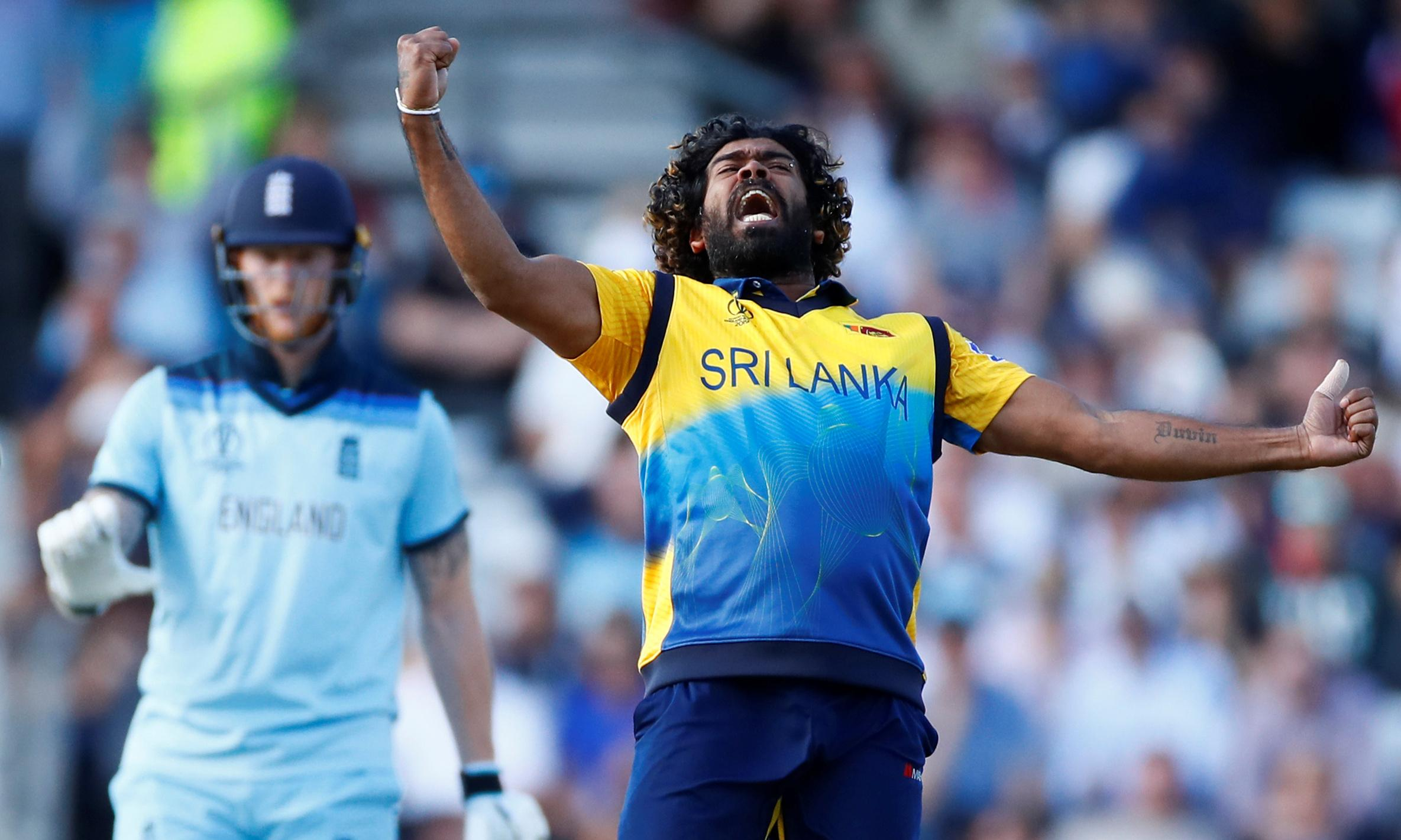 Sri Lanka and Malinga blow away England in World Cup shock