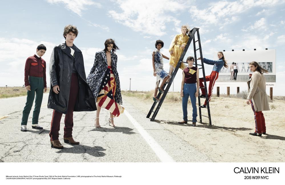 Calvin Klein AW17 campaign