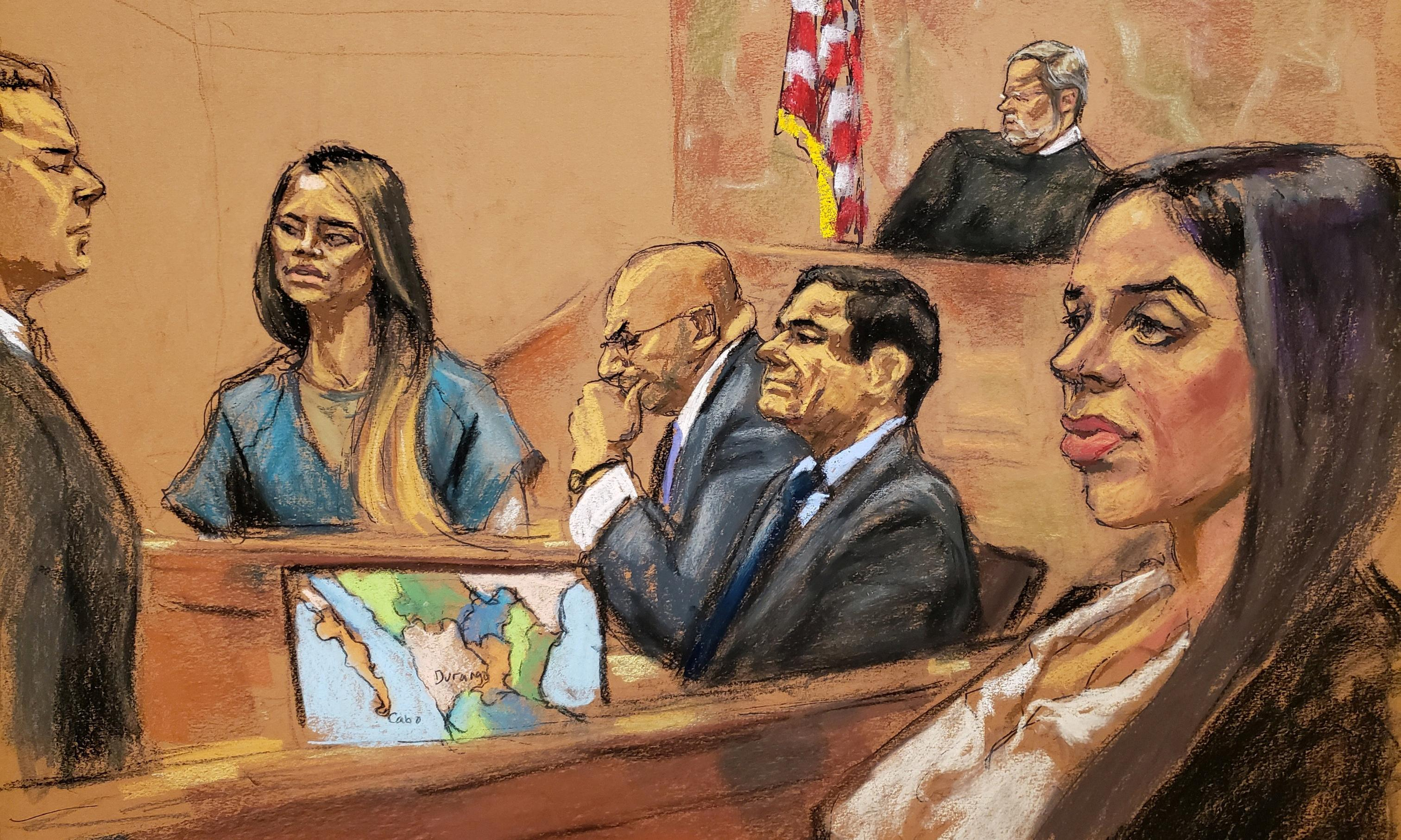A naked escape and bribed presidents: El Chapo trial's shocking testimony