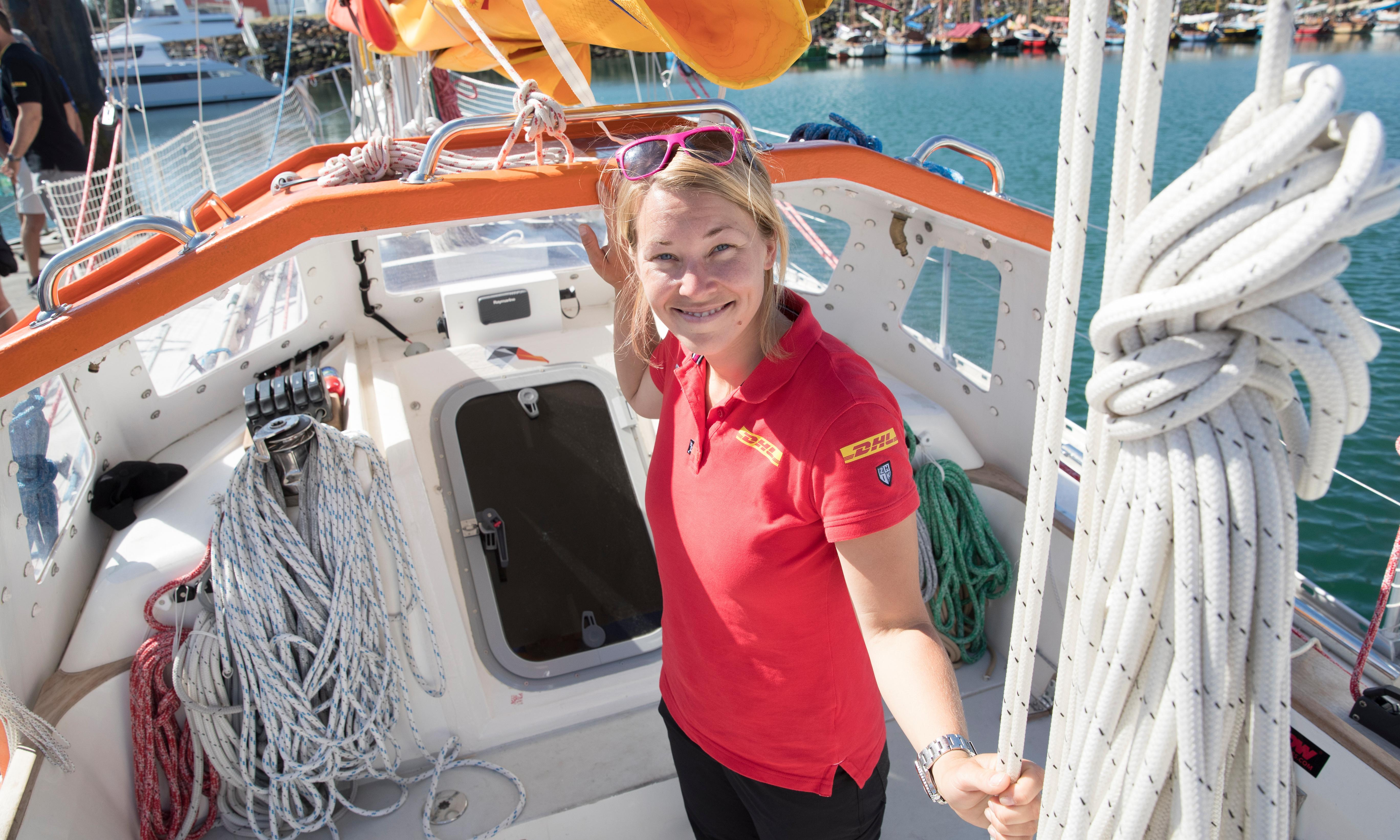 Cargo ship diverts to rescue yachtswoman sailing solo round globe