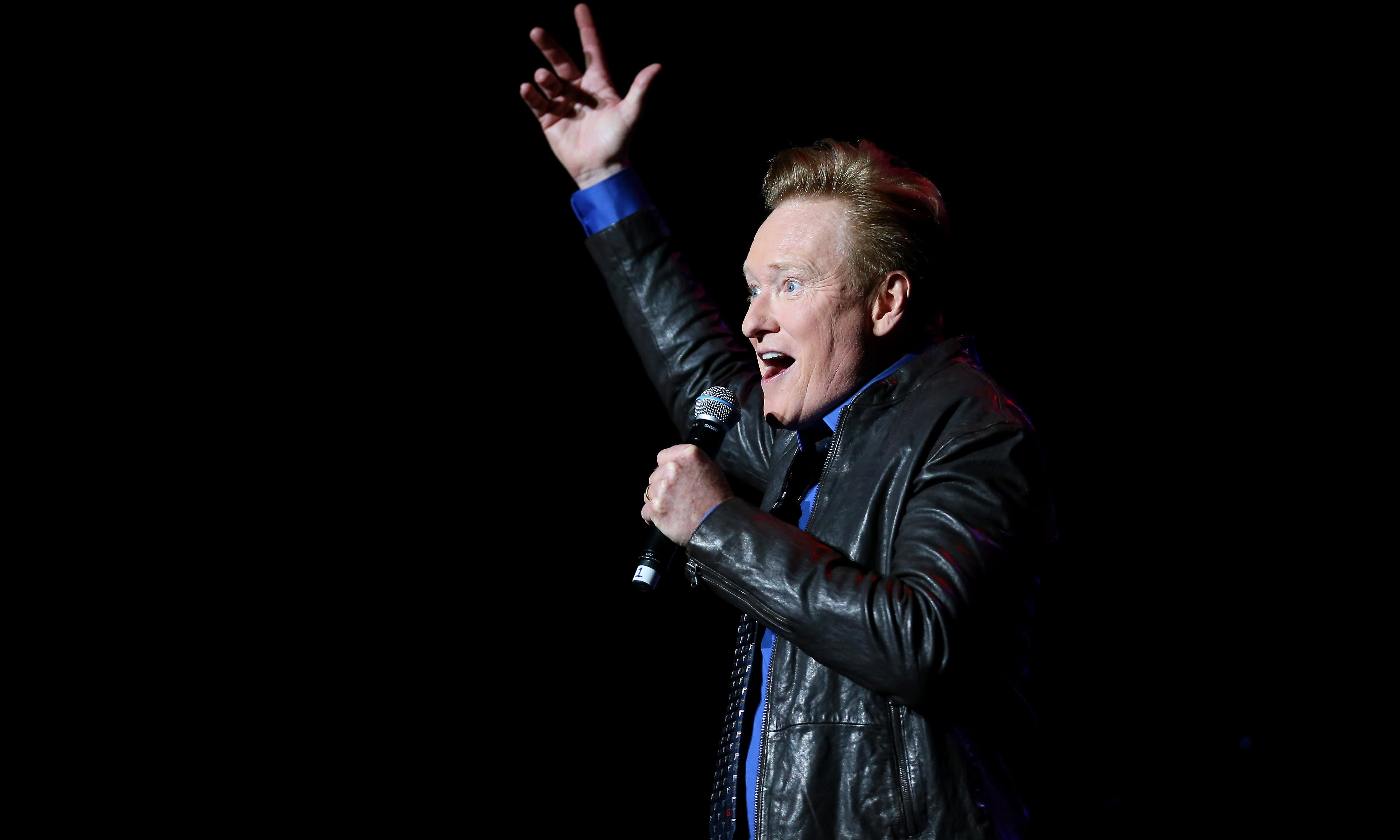Conan O'Brien in Australia: 'No shots after midnight? Are you putting up with that?'