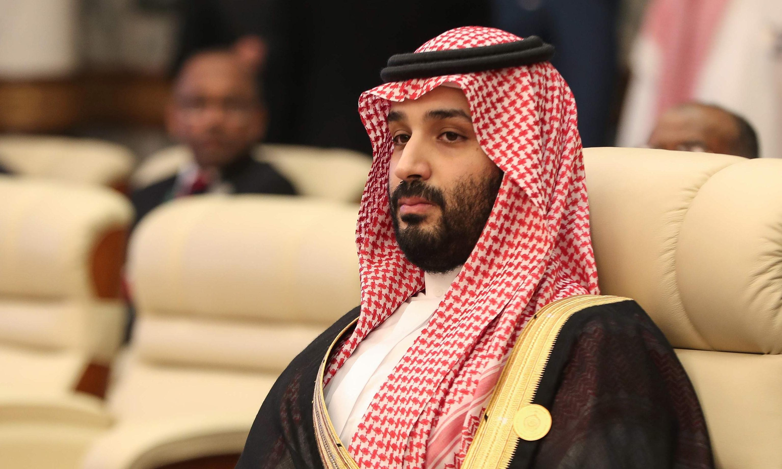 Saudi crown prince tells Iran: 'We won't hesitate to deal with any threat'