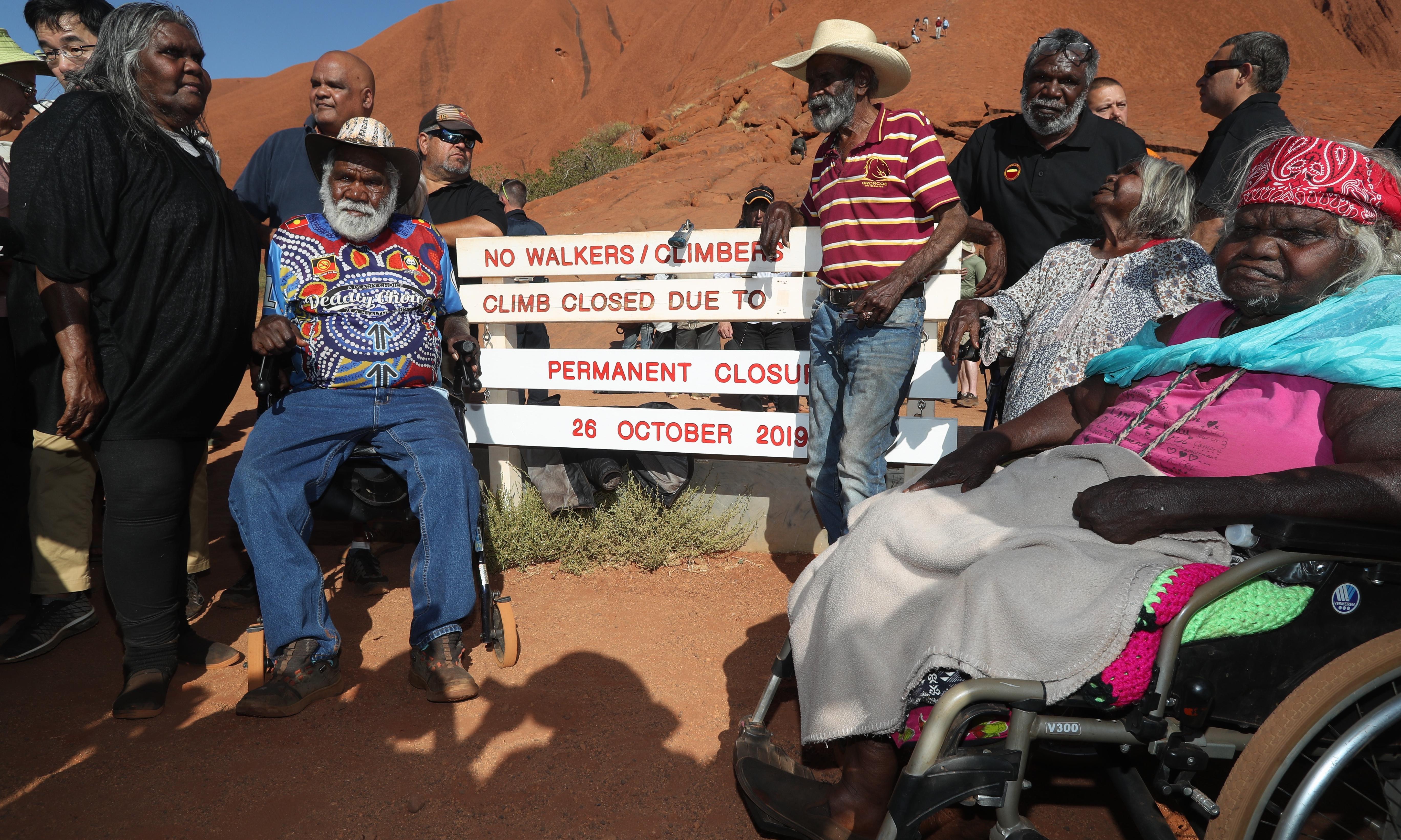 'Respect is given': Australia closes climb on sacred Uluru