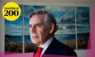 Former Prime Minister Gordon Brown will be in conversation with Jonathan Freedland