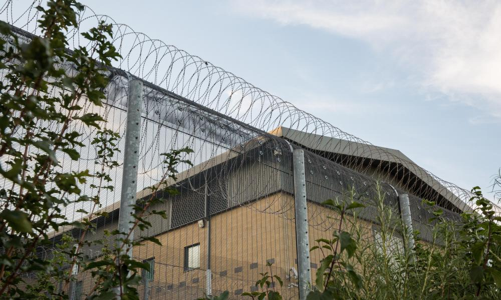 Colnbrook detention centre, part of Heathrow Immigration Removal Centre.