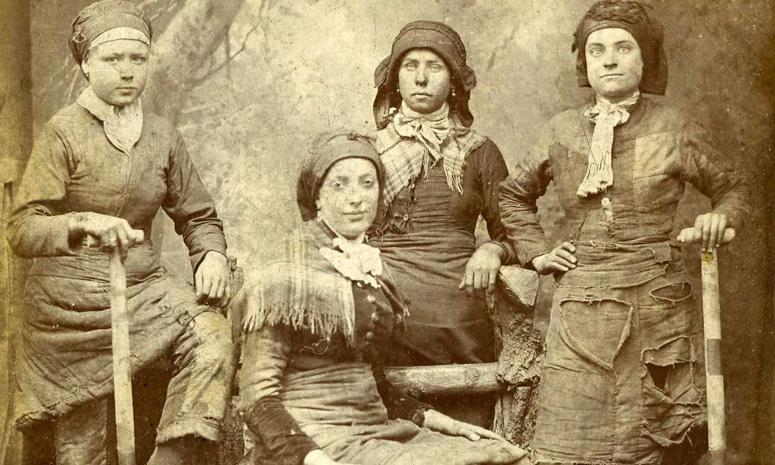 Why 'pit brow lasses' were coal mining's unsung heroines