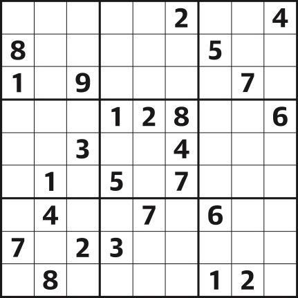 Sudoku 4,433 hard
