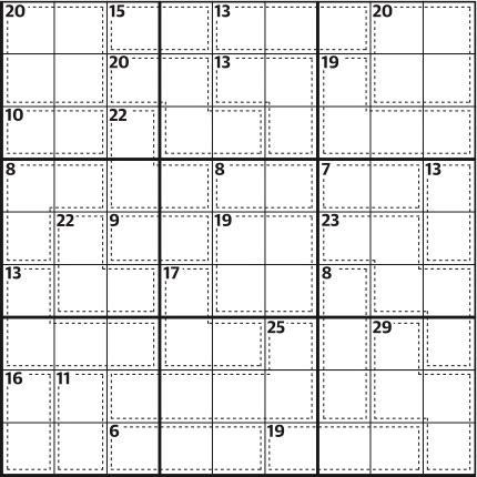 Killer sudoku 659