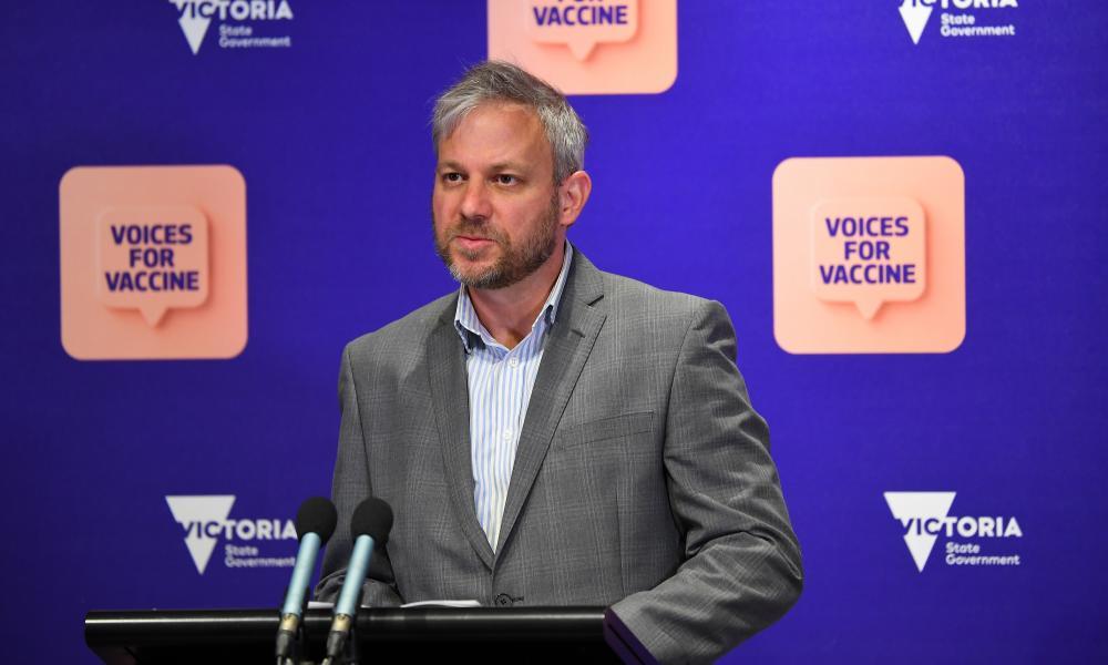 Victorian Chief Health Officer Brett Sutton