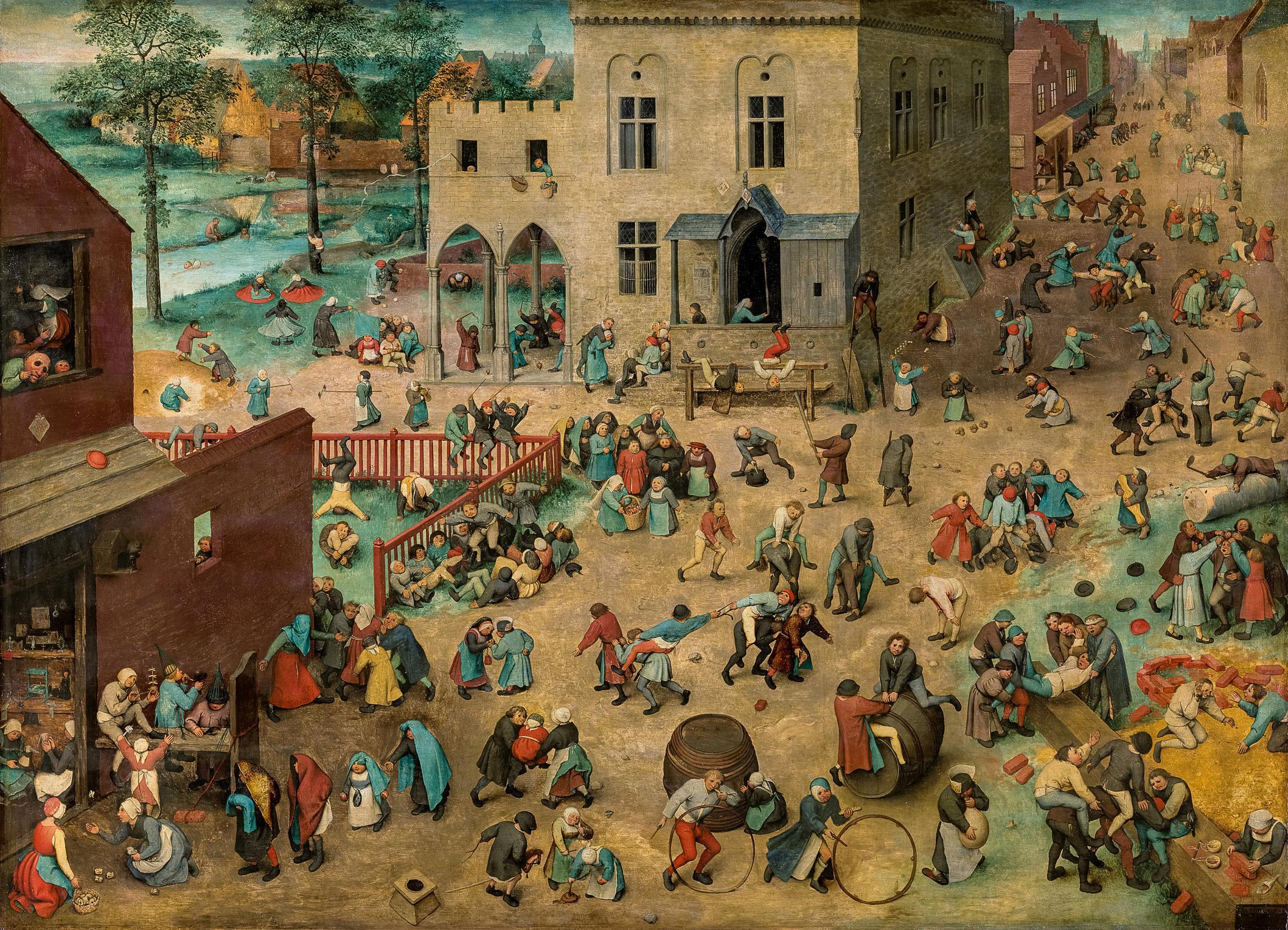 Bruegel review – beer, pancakes, and the limitless genius of Bruegel