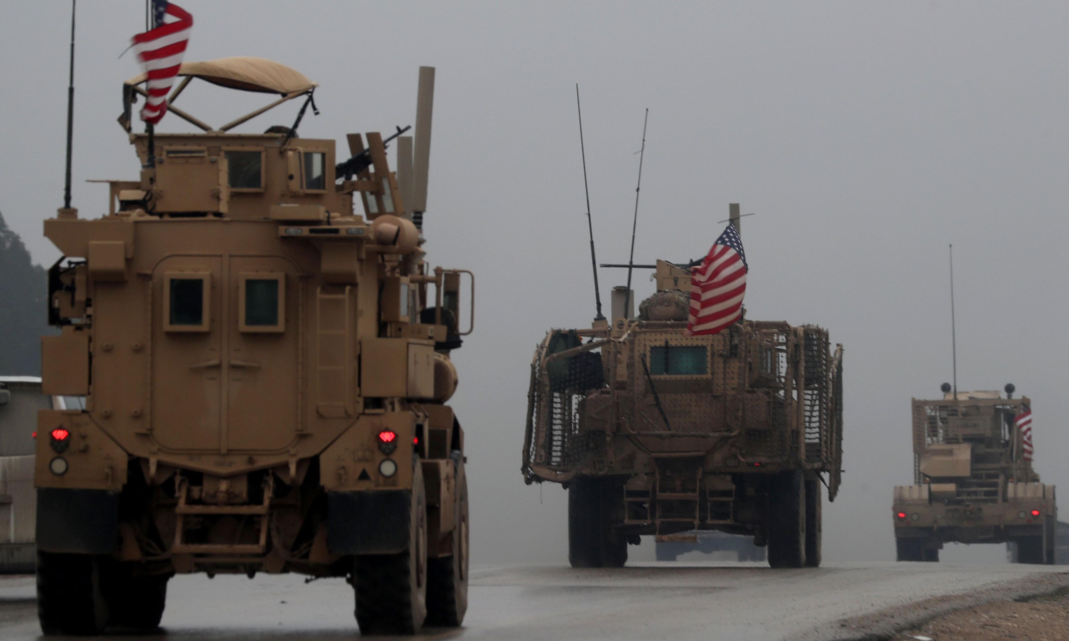 Trump orders US troops out of northern Syria as Turkish assault continues