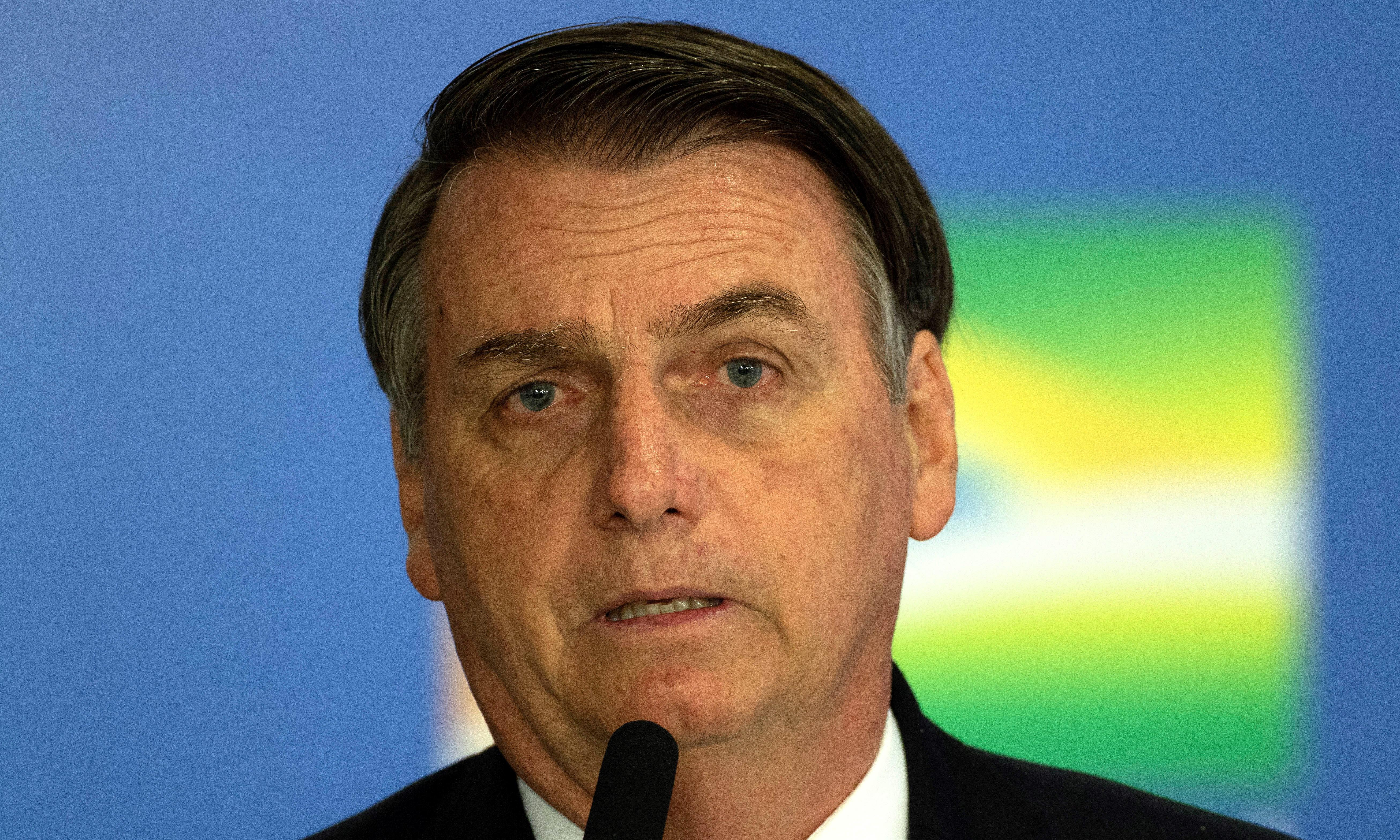 Brazil must not become a 'gay tourism paradise', says Bolsonaro