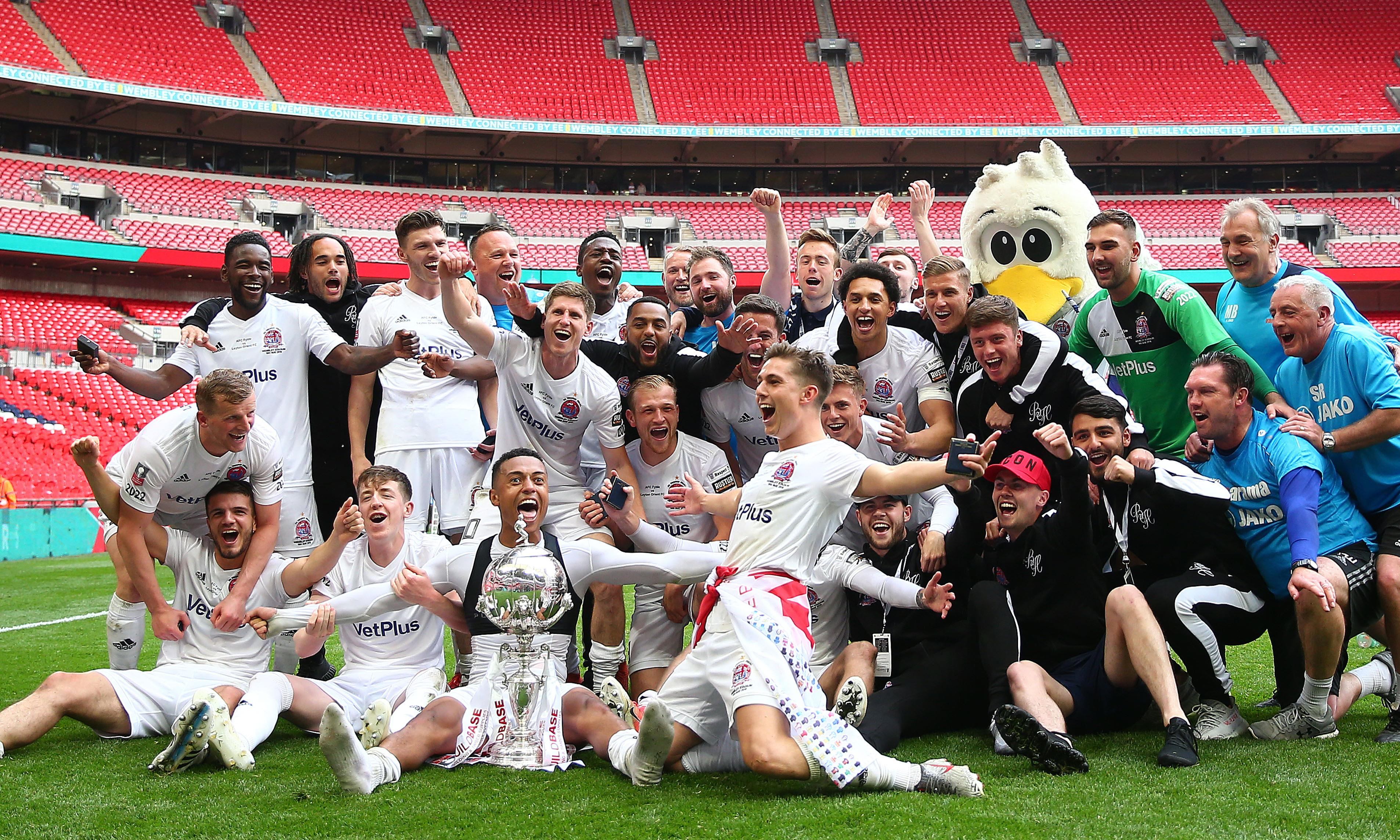 Danny Rowe sinks Leyton Orient to seal FA Trophy triumph for AFC Fylde
