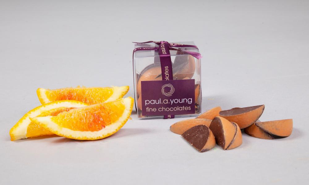 Paul A Young Very Orangey Chocolate Segments