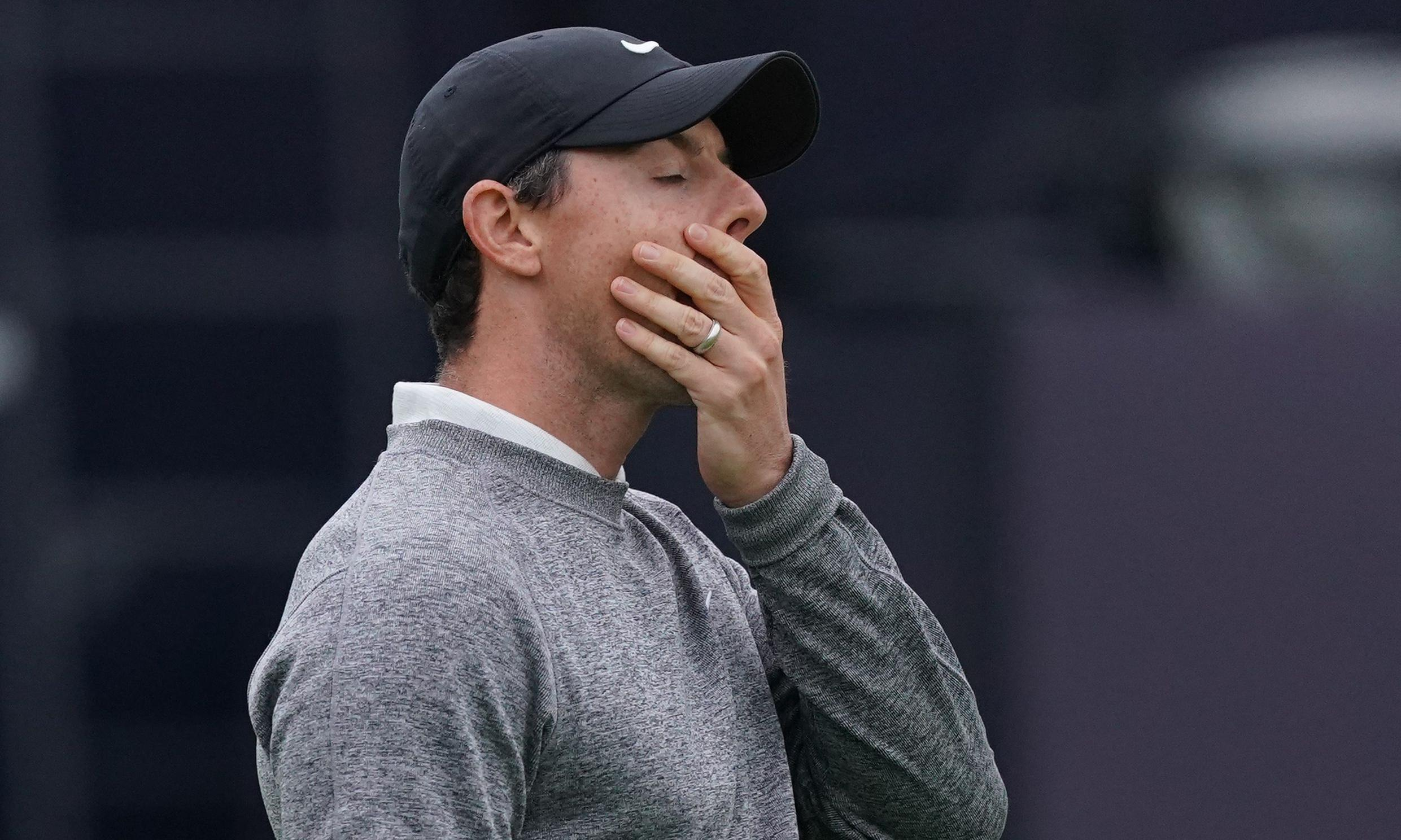 Home hero Rory McIlroy shows his class even as Open dream slips away