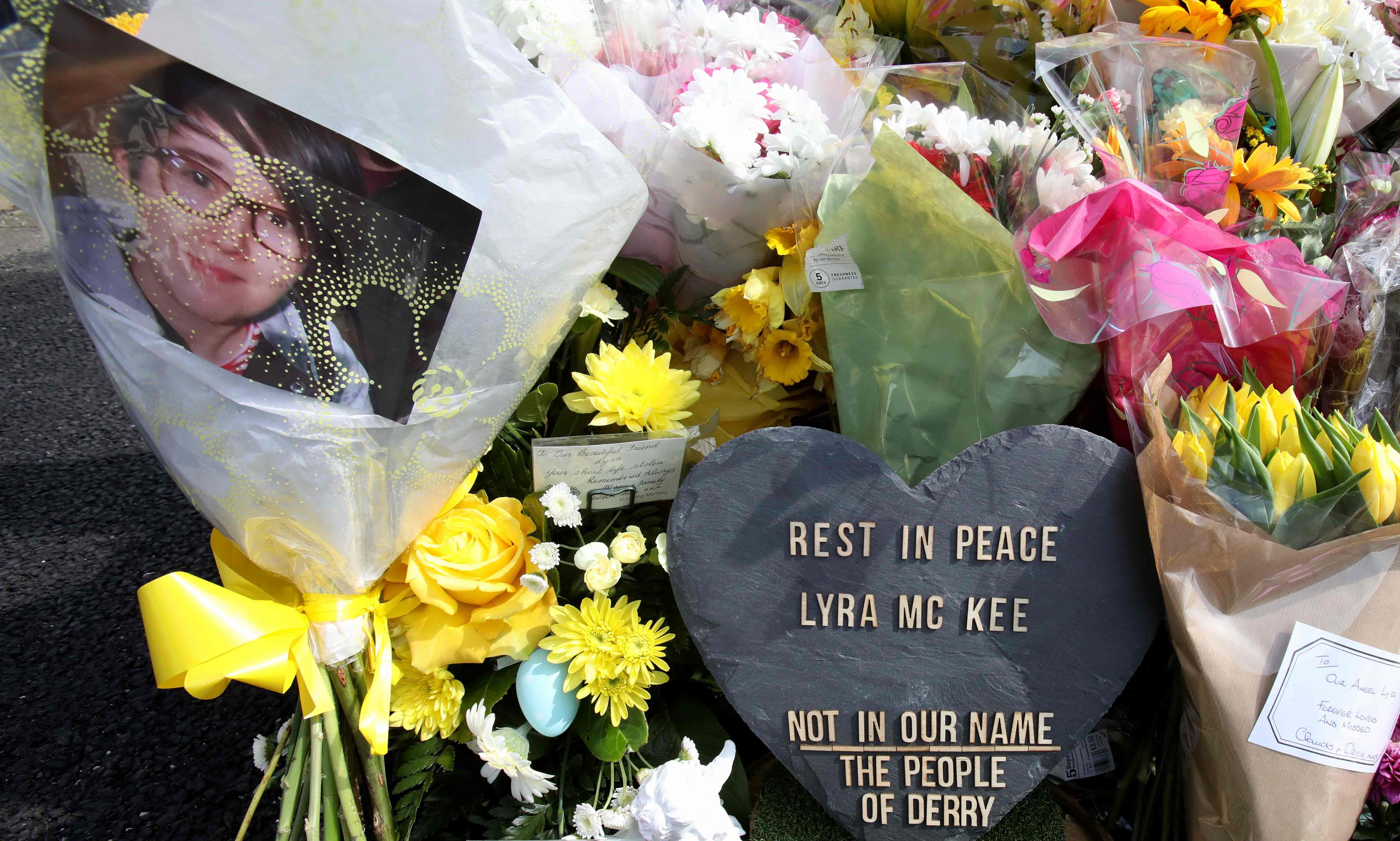 Lyra McKee: woman, 57, arrested over journalist's killing