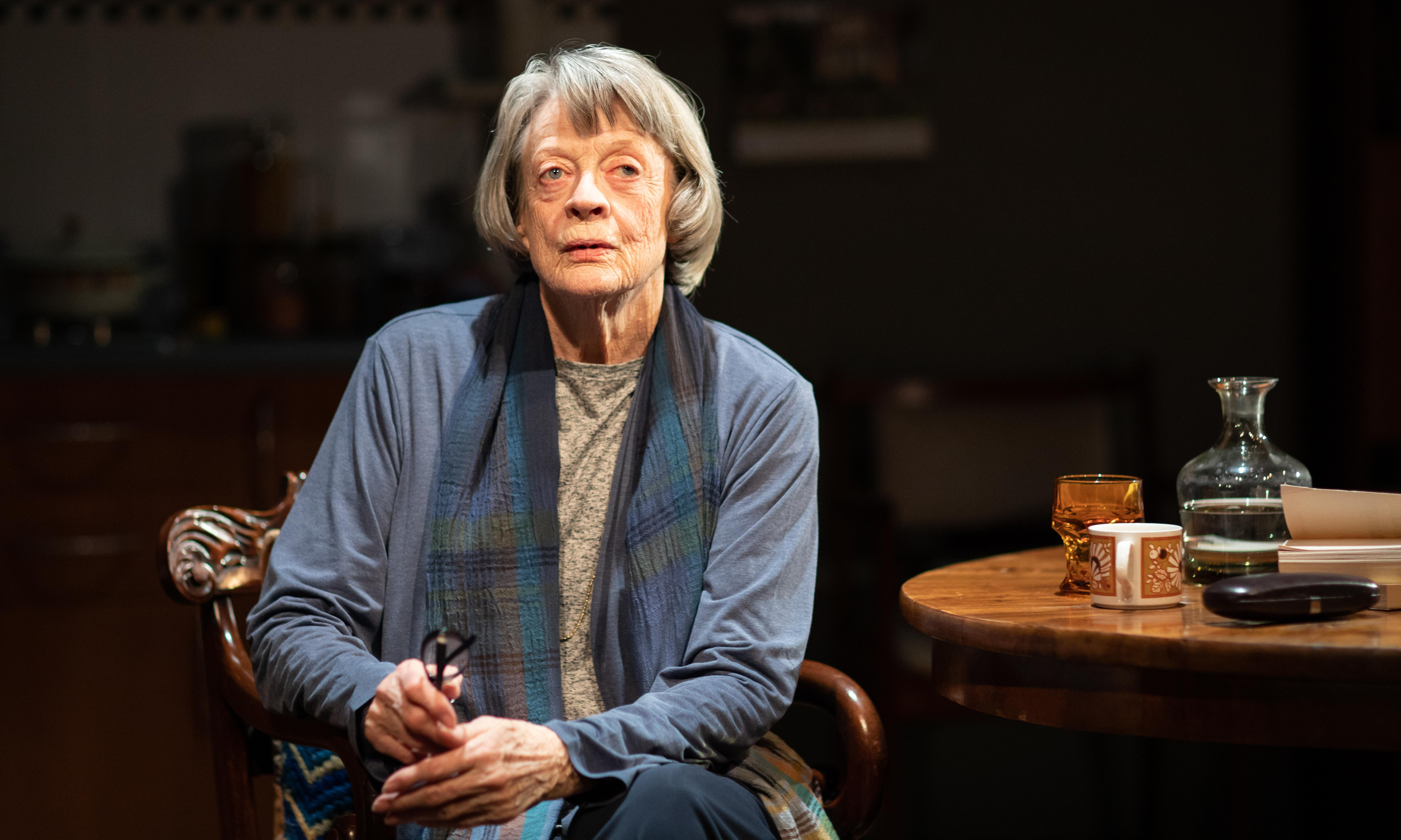 A German Life review – Maggie Smith shines as Goebbels' secretary