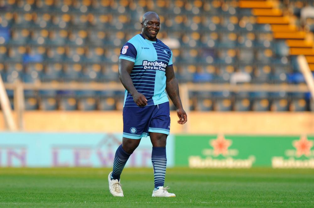 Adebayo Akinfenwa will be ready to lead the line again for Wycombe Wanderers this season