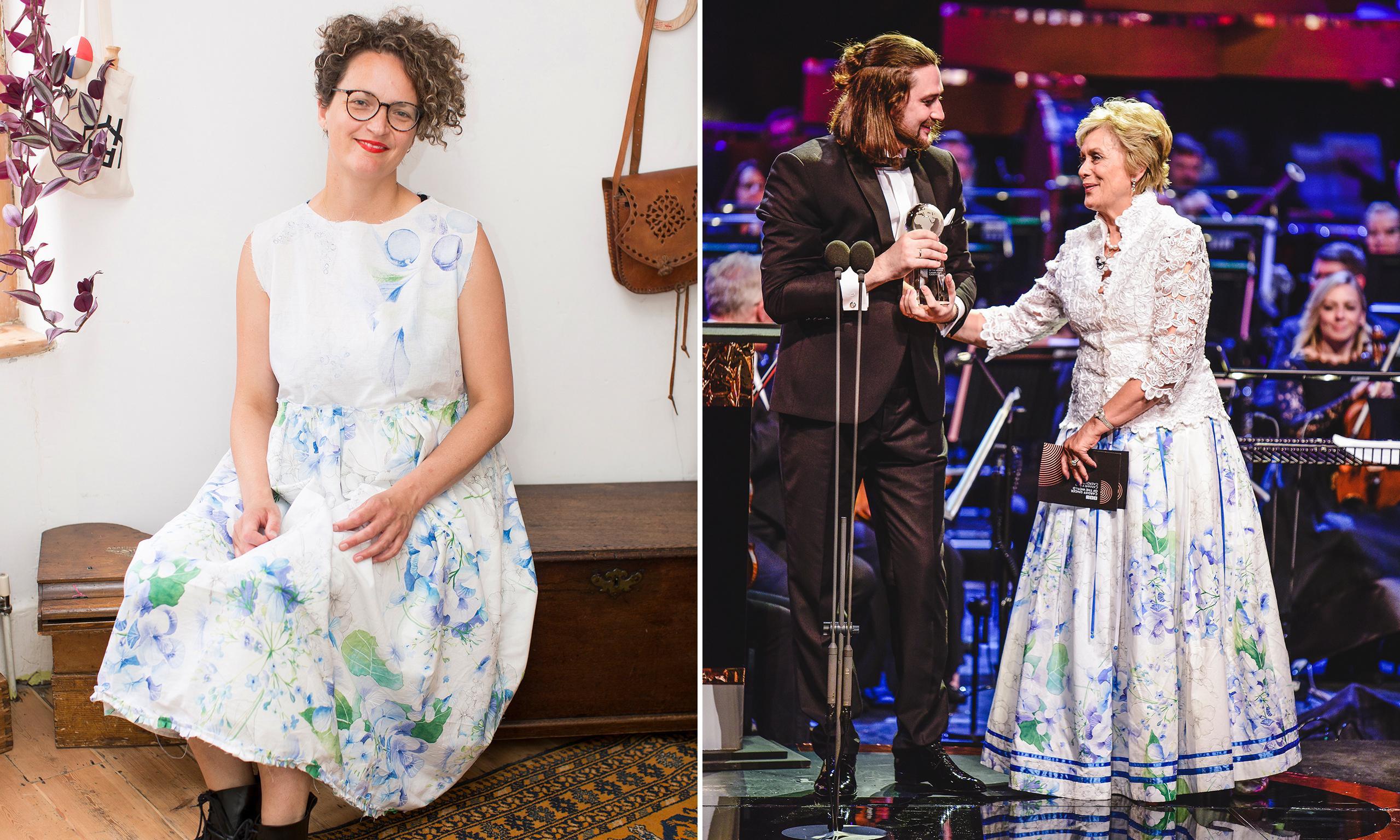 Kiri Te Kanawa wore a £20 Zara bedsheet as a skirt – so should we all try duvet dressing?