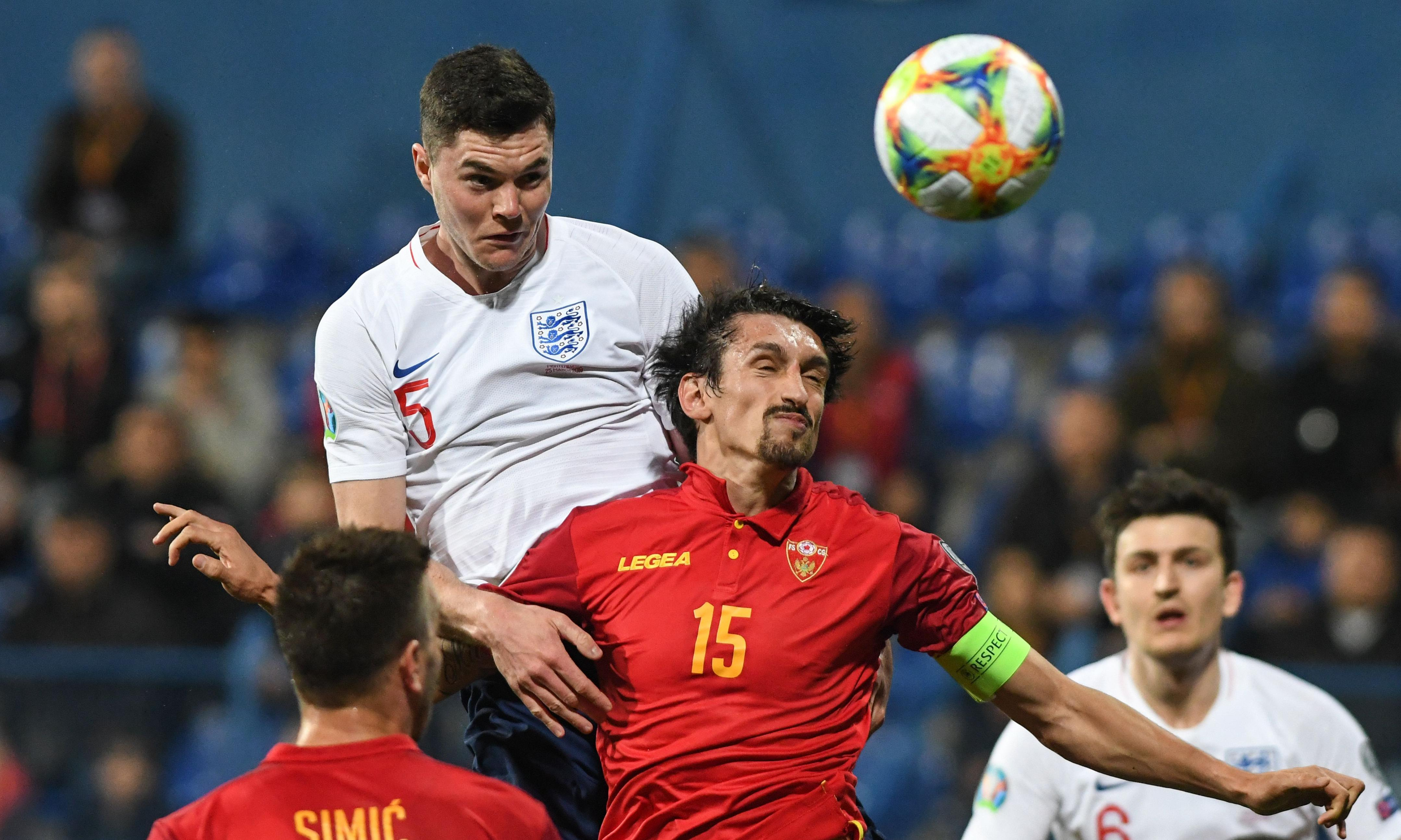 Montenegro 1-5 England: player ratings from the Euro 2020 qualifier