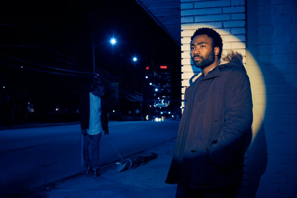 'These polymaths show that you can eschew one neat categorisation and do so on your own terms' ... Donald Glover as Earn in Atlanta.