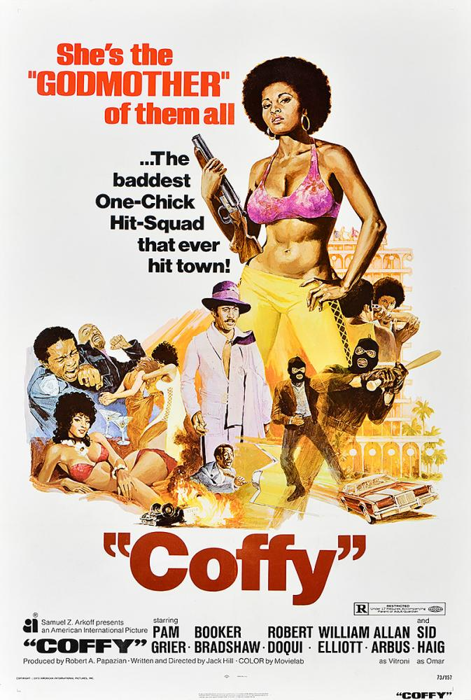Coffy poster from 1973 designed by George Akimoto.