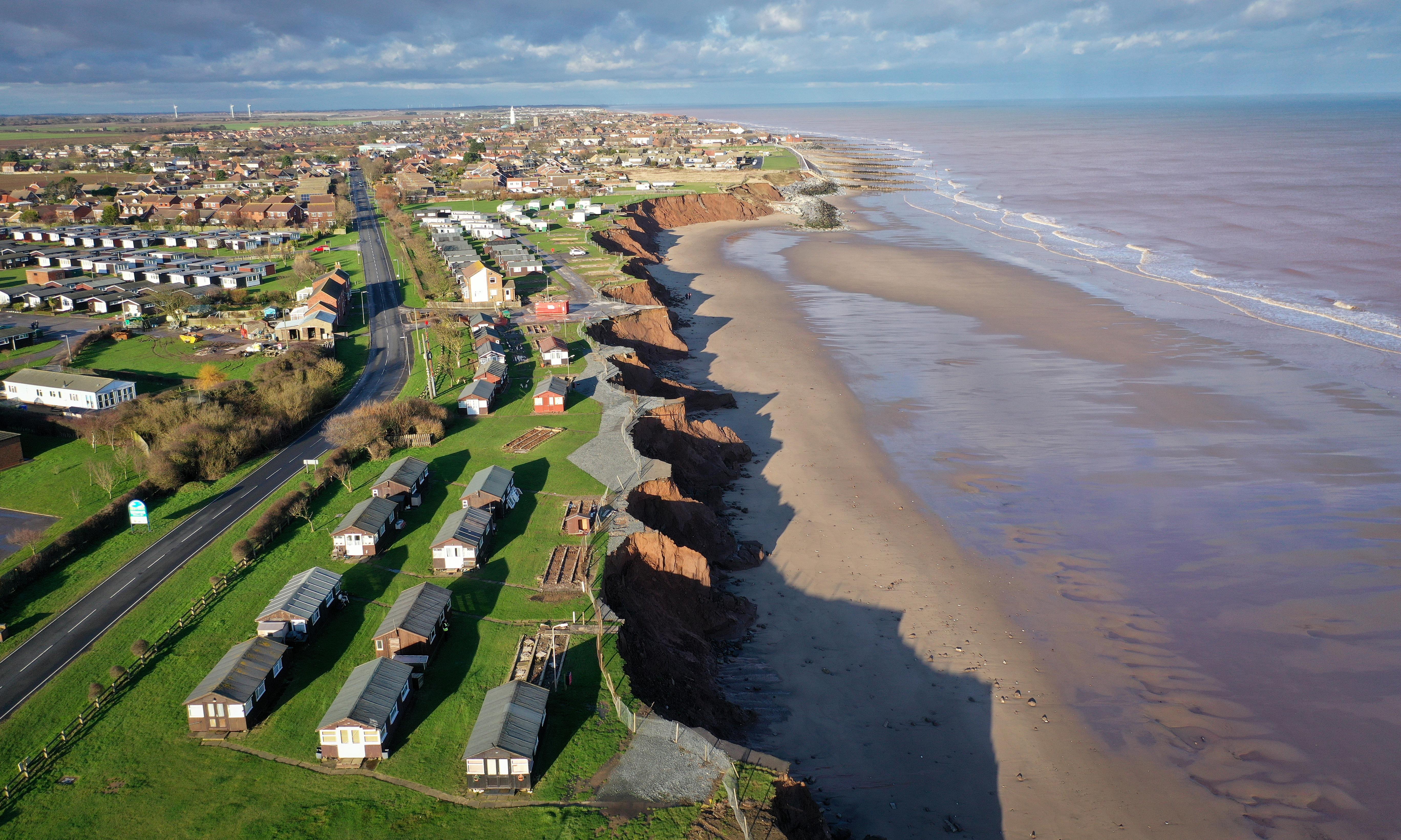 Treat coastal erosion as a natural catastrophe, UK ministers urged