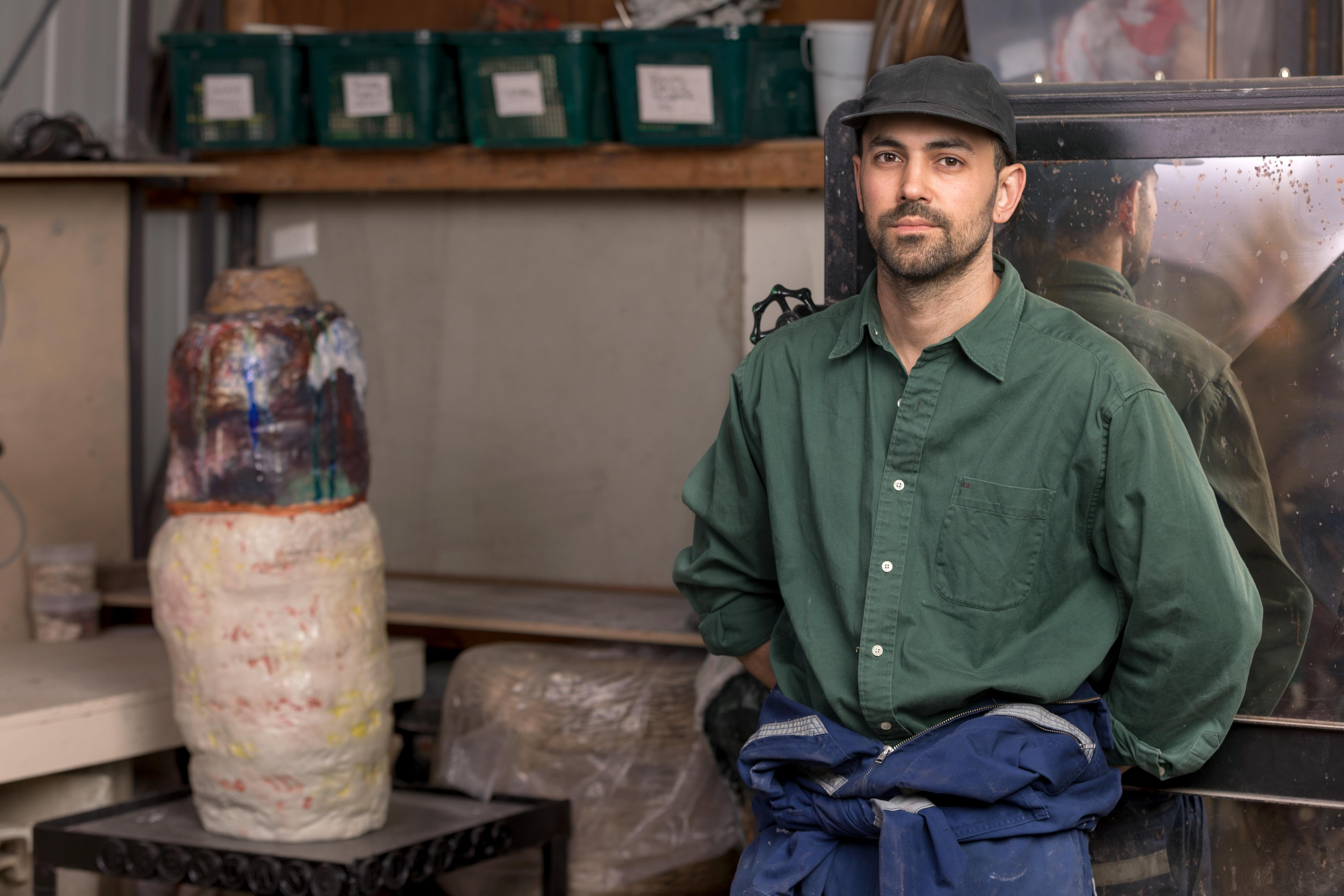Punk rock to pottery studio: how Brendan Huntley changed his tune