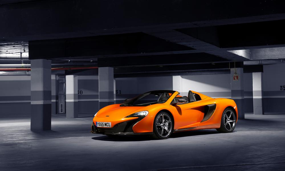 Streets ahead: the folding-top McLaren 650S Spider