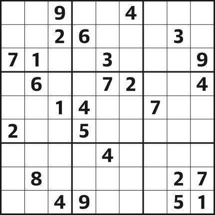 Sudoku 4,432 medium
