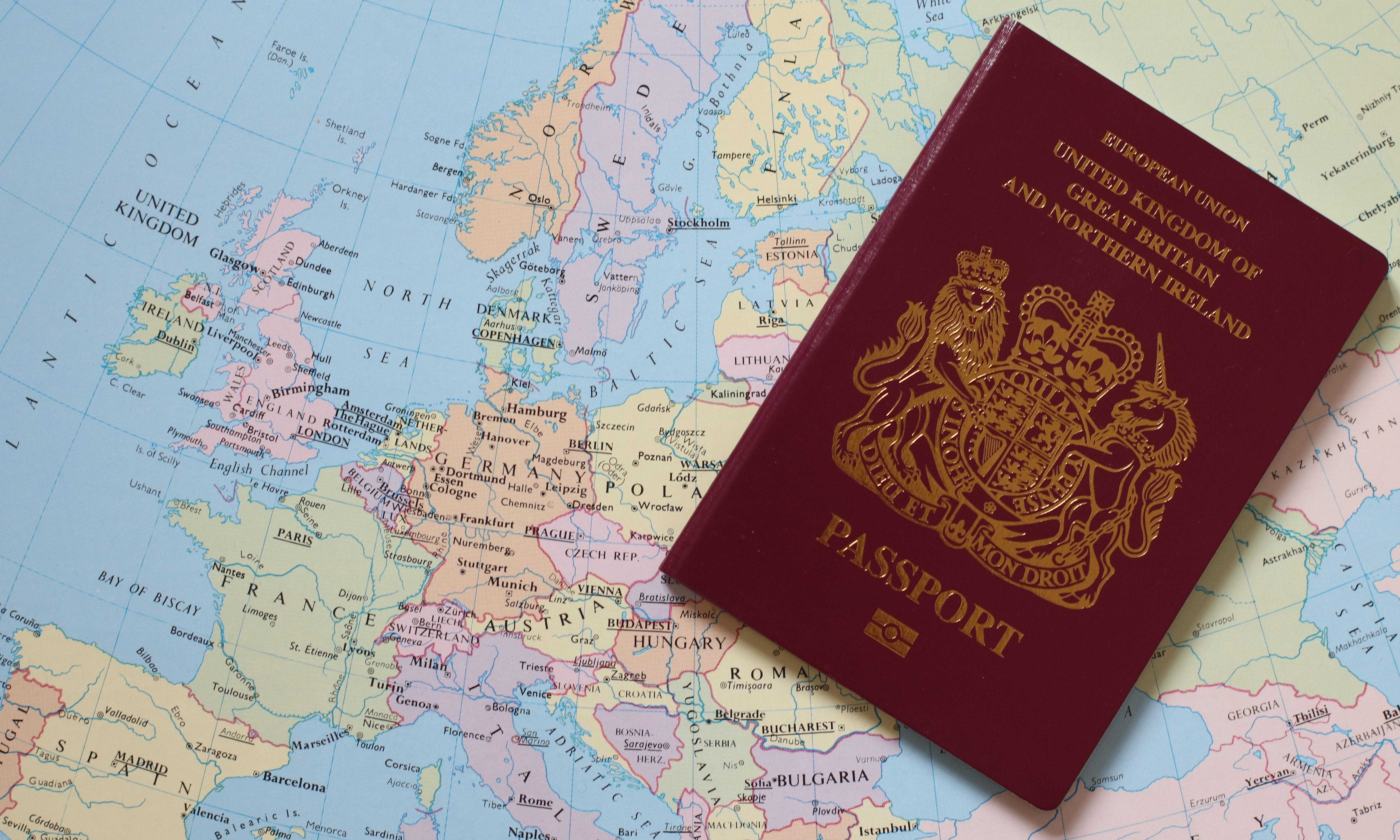 UK passport drops to sixth in global power index
