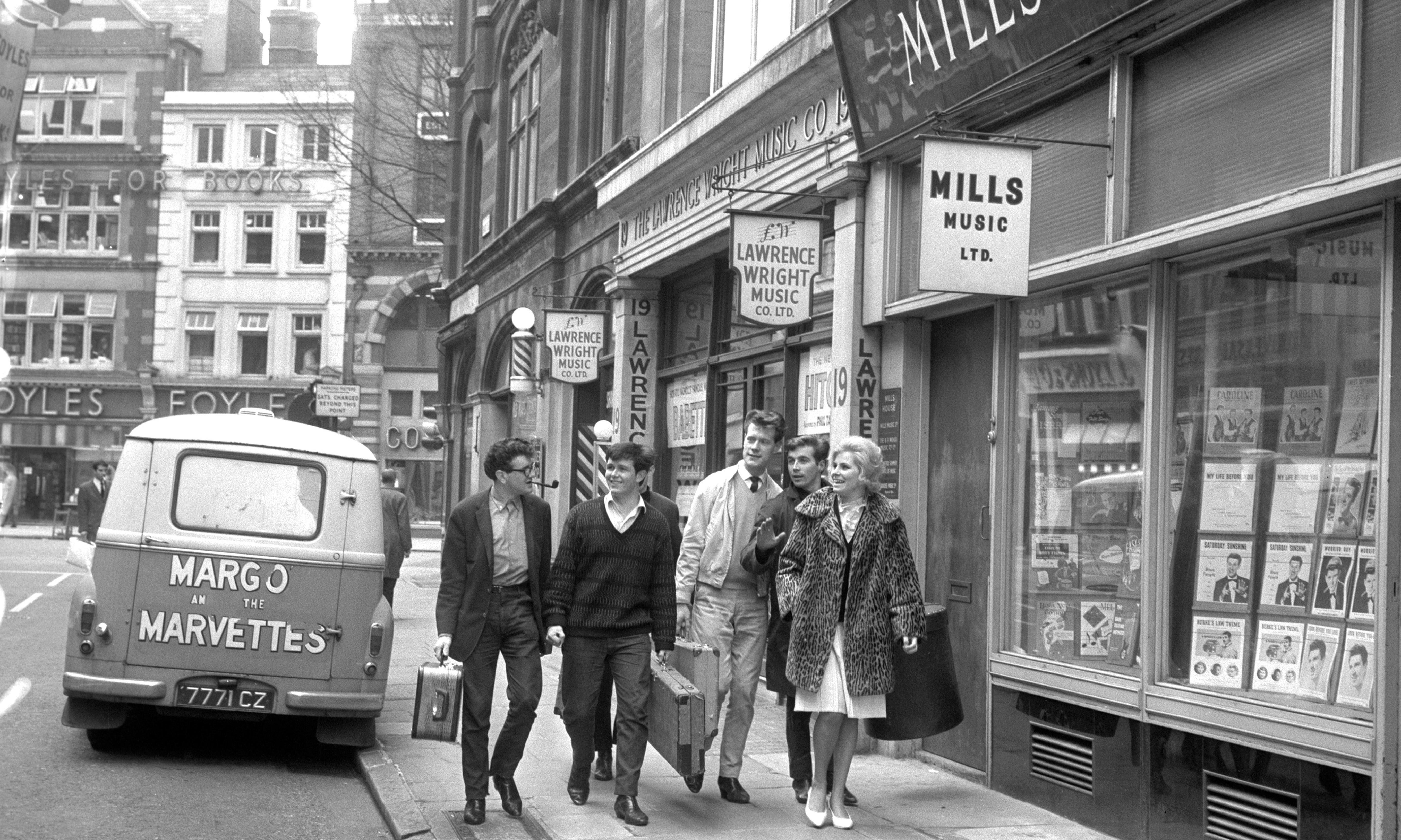 London's changing Tin Pan Alley – archive, 15 August 1961