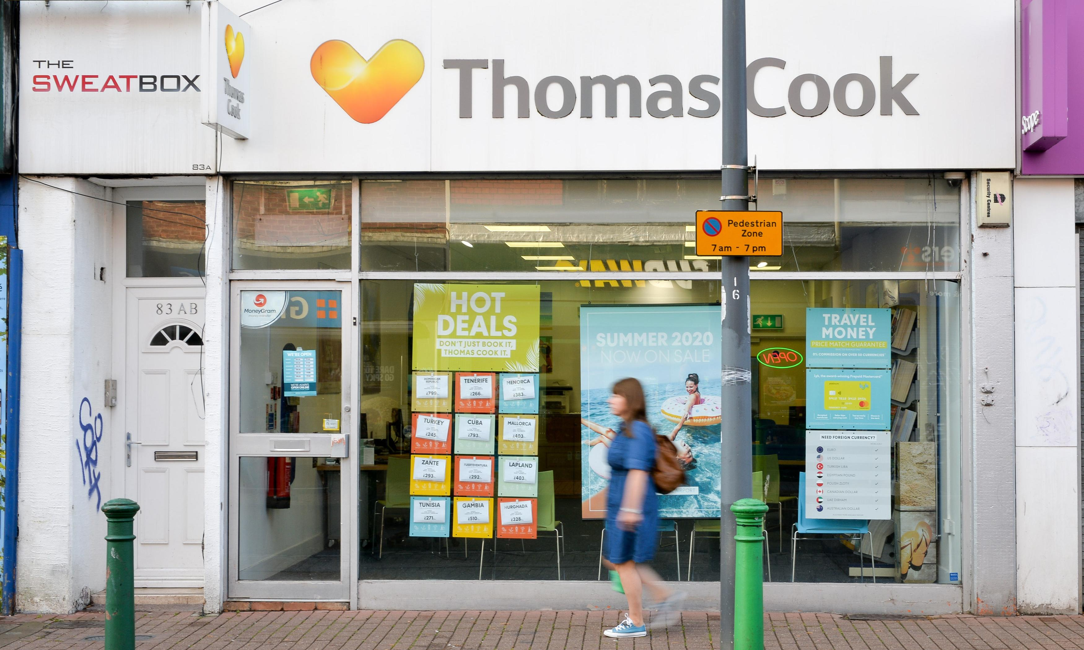 Row breaks out over government's refusal to rescue Thomas Cook