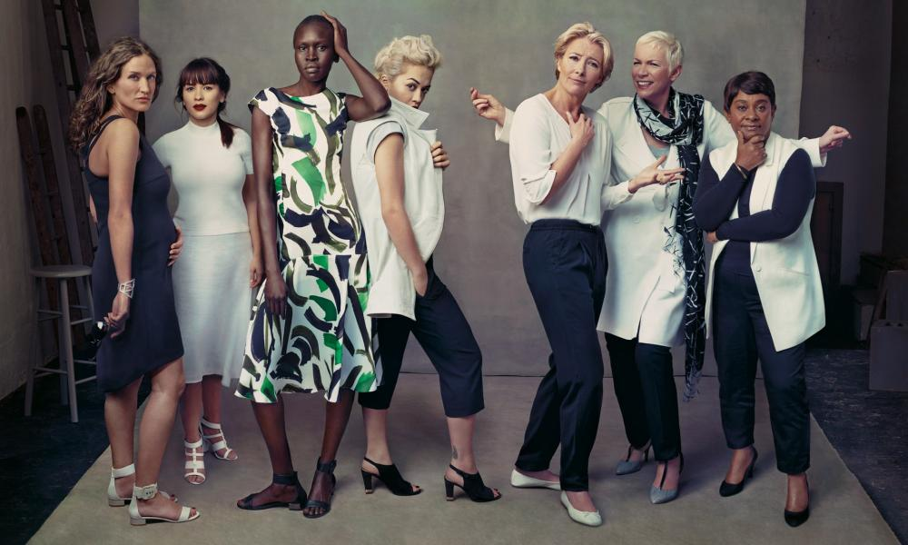 Doreen Lawrence and others appeared in a 2014 campaign for M&S alongside pro model Alek Wek