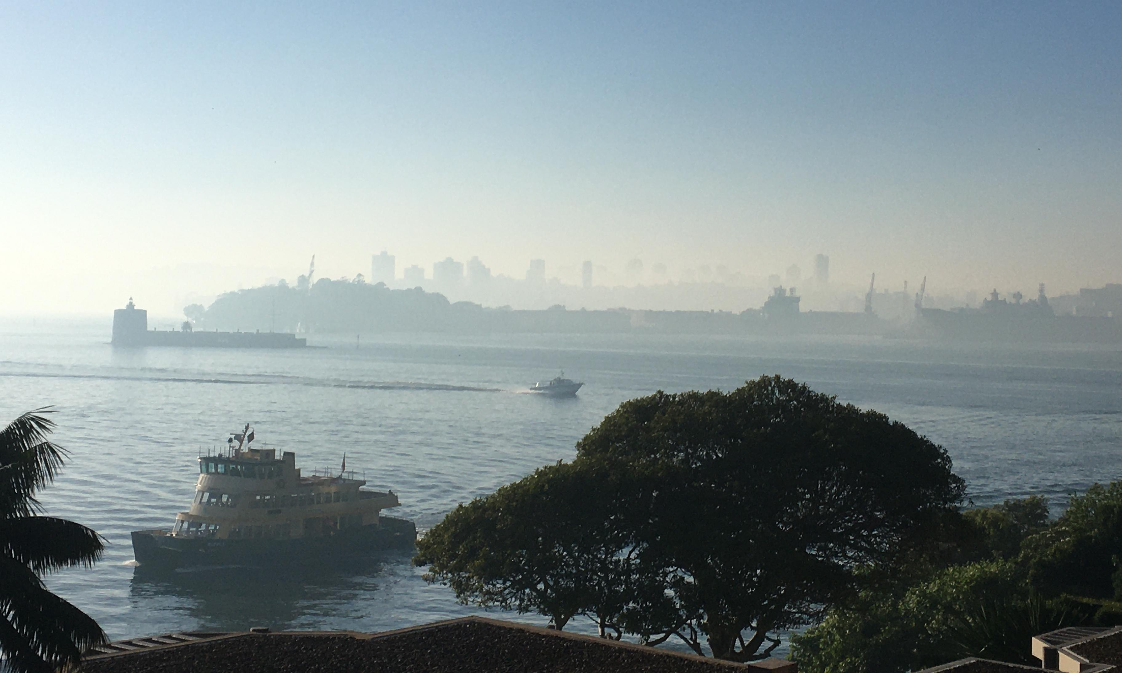 Sydney smoke: city covered in thick haze as more than 50 bushfires burn across NSW