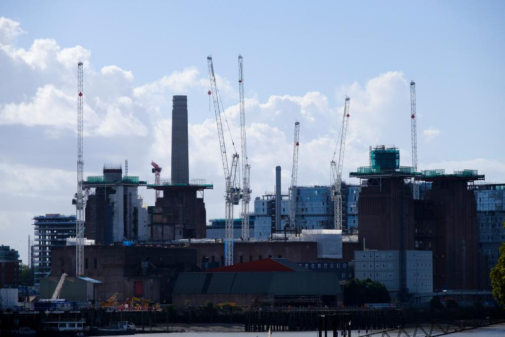 London's Nine Elms redevelopment