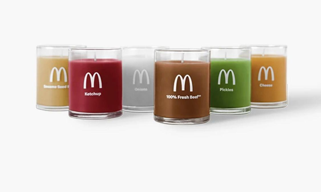 Why is McDonald's selling burger-scented candles?