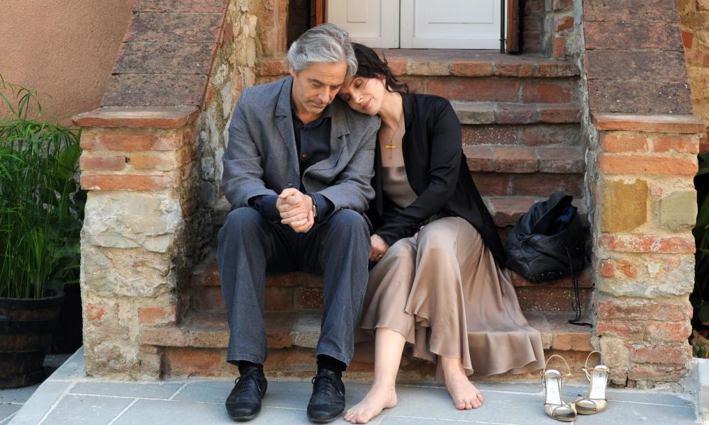 Awarded ... William Shimell and Juliette Binoche in Certified Copy