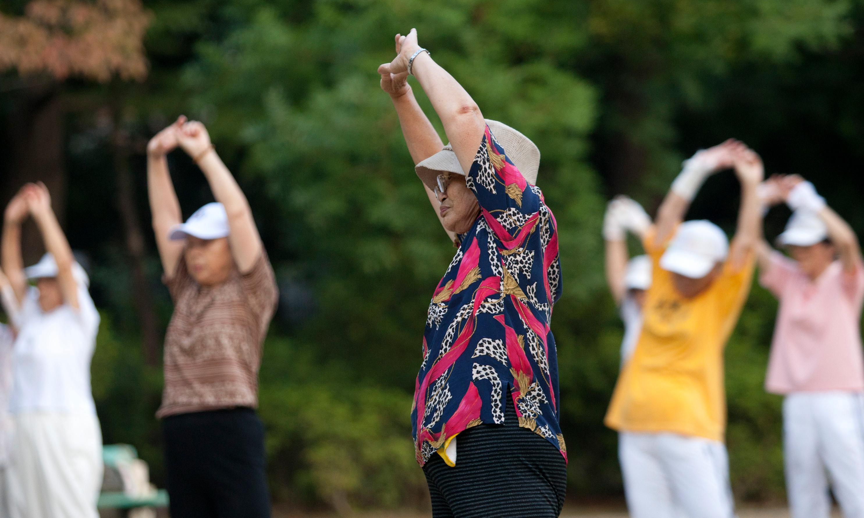 Listen, bend and stretch: how Japan fell in love with exercise on the radio