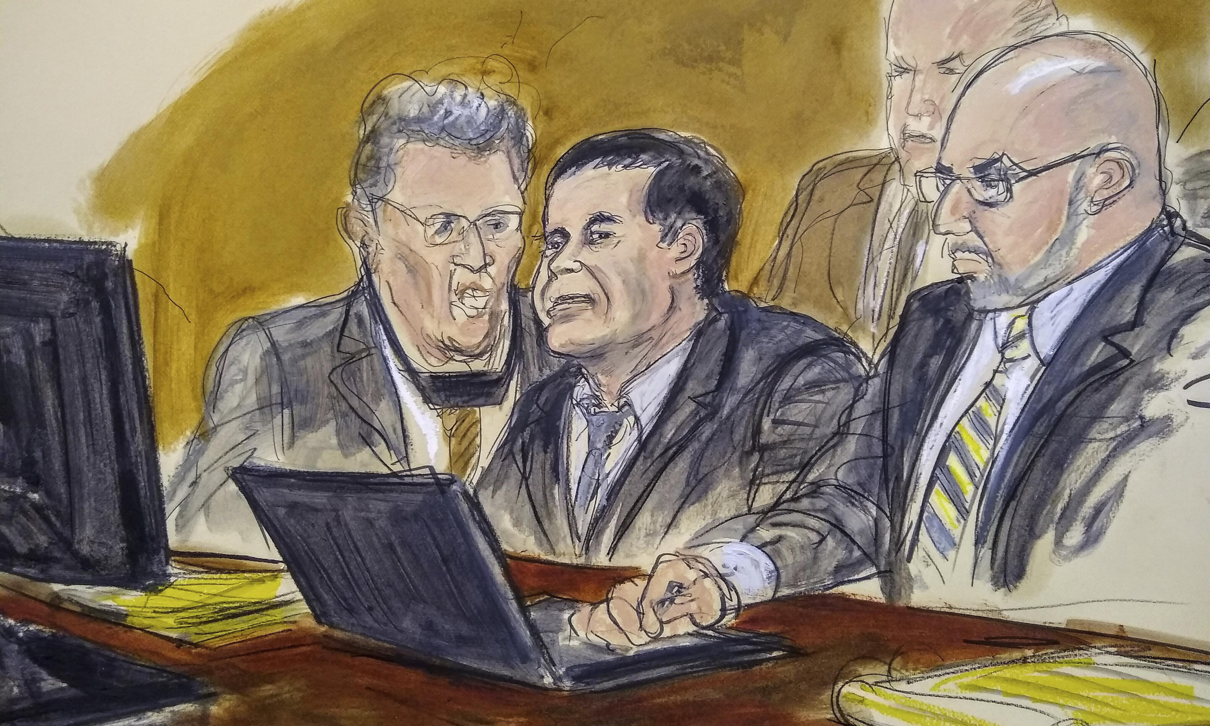 El Chapo's lawyers request new trial after report of juror misconduct