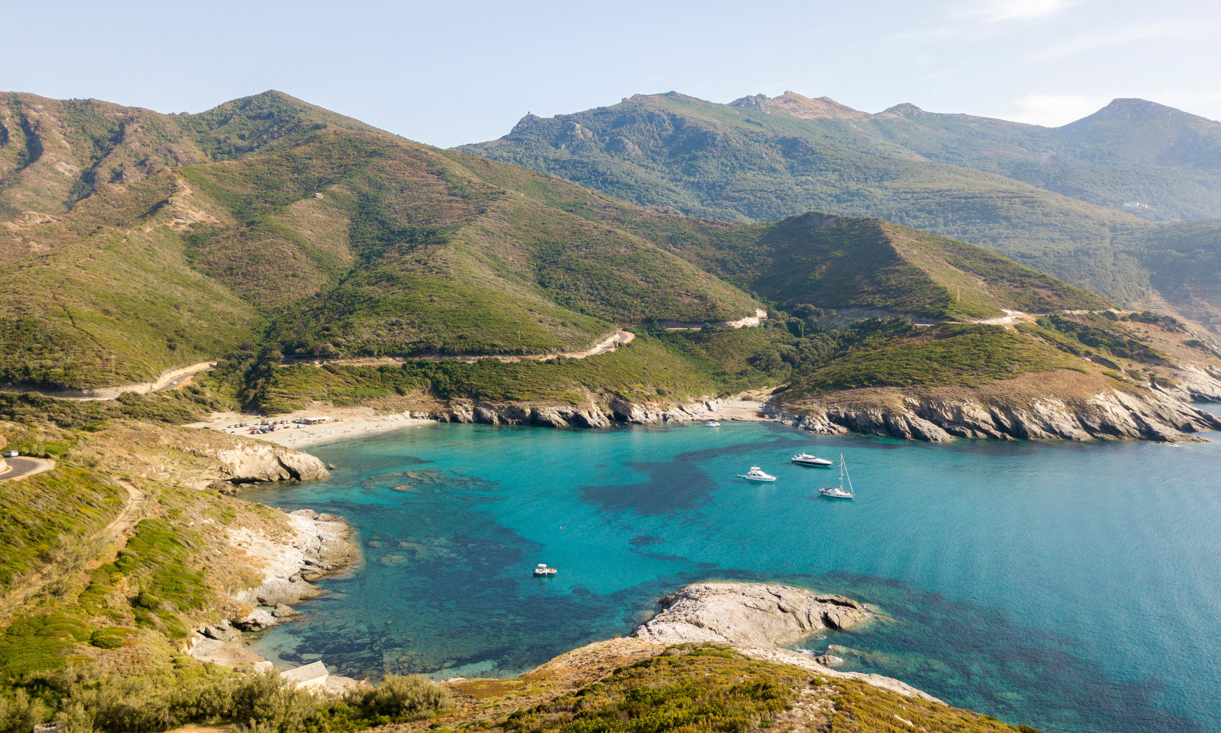 Corsica's cape of good campsites