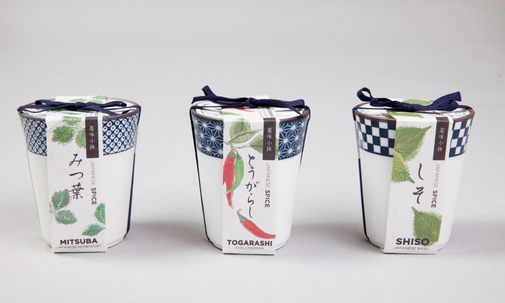 Yakumi Japanese spice pots £13,